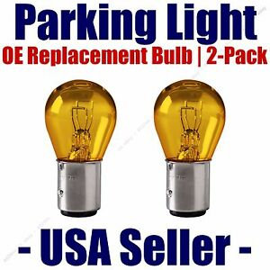 Parking Light Bulb 2-pack OE Replacement Fits Listed Cadillac Vehicles - 2057A