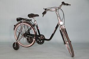"Haverich TH 26"" TE Zweirad mit Kippstütze Dreirad Therapierad Rad Fahrrad #7583"
