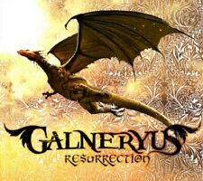 GALNERYUS RESURRECTION 2010 Japanese CD New Symphonic Speed Metal w/Tracking No.