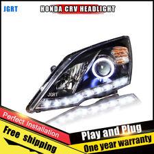 For Honda CRV Headlights assembly Bi-Xenon Lens Double Beam HID KIT 2007-2011