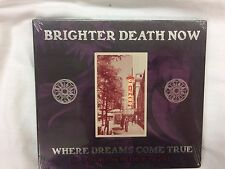 NEW Brighter Death Now Where Dreams Come True Live CD Digipak Cold Meat SEALED