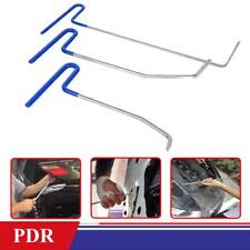 3pcs PDR Paintless Dent Puller Rods Hail Removal Tools Car Body Repair Kit
