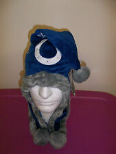 Indianapolis Colts Football Dangle HAT Winter Soft beanie cap PARTY 1 Size Adult