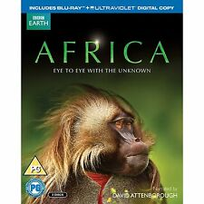 Africa Blu ray Box Set RB David Attenborough - not a DVD