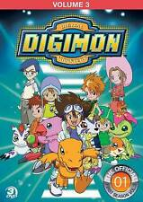 Digimon: Digital Monsters - The Offical First Season, Vol. 3 (DVD, 2013, 3-Disc