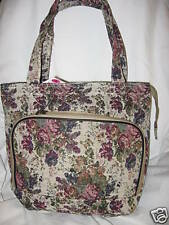 Designer inspired purse tote handbag tapestry book Bag