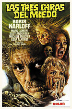 Boris Karloff Black Sabbath horror movie poster print 3