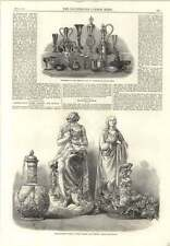 1866 Presentation Ceramic Crystal Palace Art Union Venetian Glassblowing