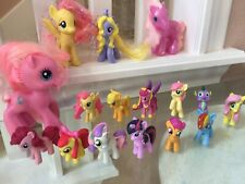 HASBRO MY LITTLE PONY - Lot Of 19 Figures And Toys Free Shipping