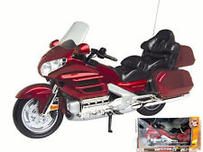 MOTOR MAX 1:6 HONDA GOLDWING DIECAST MOTORCYCLE 1:6 SCALE 76264RD