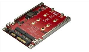 """Dual M.2 to SATA RAID Adapter for 2.5"""" Drive Bay - STARTECH"""