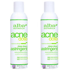 Alba Botanica Acne Dote Deep Clean Astringent maximum strength PACK OF 2