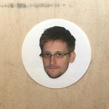 Edward Snowden vinyl sticker laptop decal NSA CIA Ed USA Russia DOJ privacy