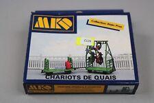 Z226 MKD 536 maquette train Ho 1:87 chariot de quai decor diorama maison kit