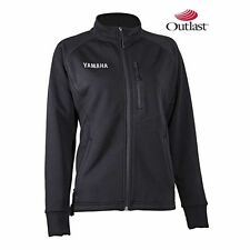 YAMAHA WOMENS MID LAYER SNOWMOBILE JACKET OUTLAST BLACK SMALL SM SMW-14JMD-BK-SM
