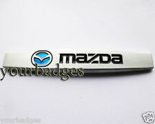 New Solid Metal Mazda Car Badge MX5 RX8