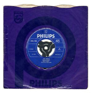 """BLUE MINK - OUR WORLD / PASTURES NEW.UK ORIG 1970 7"""" & CO/SL.EX"""
