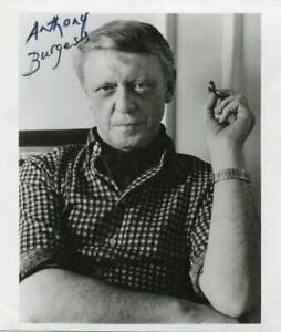 WRITER & COMPOSER Anthony Burgess autograph, signed photo