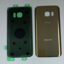Samsung Galaxy S7 Verizon G930V Back Glass Cover Battery Door Gold Replacement