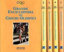 OFFERTA! Grande enciclopedia dei Giochi Olimpici: 5 Voll. E.Ermes. 1991-92. GR22