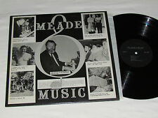 CECIL MEADE Meade Music - At the Piano LP Private Label Quebec Rare Vinyl Album