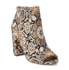SALE!!! NWT Women's Candie's  Limo Women's Ankle Boots Shoes Floral