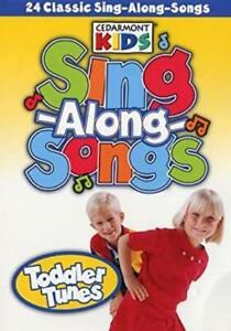 Cedarmont Kids: Sing-Along-Songs: Toddler Tunes DVD VIDEO children music dance +