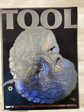 TOOL Concert Poster Print 5/28/17 Boston Calling Music Festival! Only 500!