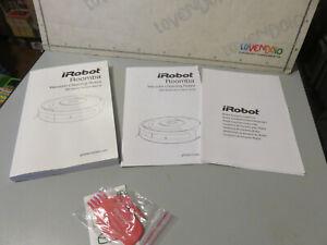 Roomba iRobot Vacuum Cleaning Robot 600 series libretto istruzioni Manuale
