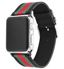 2018 NEW Apple Watch Band Strap Gucci Pattern 38mm 40mm 42mm 44mm