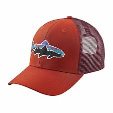 7d72f87b971bc Patagonia Fitz Roy Trout Snapback Hat Roots Red Mens One Size