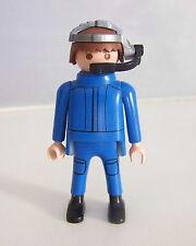 PLAYMOBIL (X343) FORET - Homme Pilote de l'Helicoptère 3220