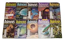 10 Issues of Asimov's Science Fiction Magazine ~ 1999 Steele Swanwick Arnason