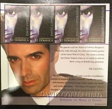 Dominica- David Copperfield Stamp Sheetlet of 4 MNH
