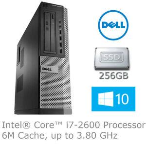 Dell OptiPlex 990  Desktop PC Intel i7-2600 3.40GHz 8GB RAM 240GB SSD W10P !