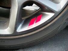 Hash Mark stripes (WHEEL /  RIM) X 4  Decals Dodge Charger Challenger     FITS
