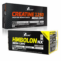 OLIMP CREATINE MONOHYDRATE + HMBOLON -Strong Muscle Growth Stack - Muscle Energy
