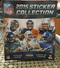 2015 Panini Stickers NFL Collection Complete Set 477 Mint Unused with Album