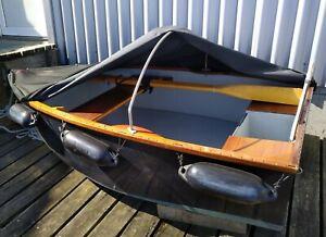 GFK Ruderboot Angelboot oder Beiboot, gebraucht , 230 x 140 cm