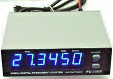 Workman Bandit FC-30BT Blue FREQUENCY COUNTER for CB and Amateur Radio