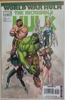 The INCREDIBLE HULK #109 World War Hulk (2007 MARVEL Comics) ~ VF/NM Book