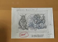 Disney , Pencil Drawing Donald Duck China Stamp Project Opera