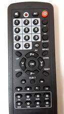 NUOVO 10 IN1 UNIVERSALE DI RICAMBIO TELECOMANDO TV DVD VCR LG SONY SAMSUNG CIELO