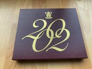 2002 Royal Mint UK Deluxe Proof Coin Collection/Set