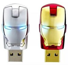 USB FLASH DRIVE 32GB Avengers Iron Man Led Pen- 2 Colour Option
