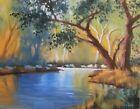 TOM HAAS painting 'Verde River' oil Arizona SaltRiver tributary stream Southwest