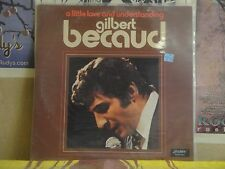 GILBERT BECAUD, A LITTLE LOVE AND UNDERSTANDING - LONDON LP PS 663