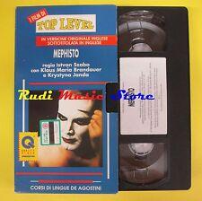 film VHS MEPHISTO i film di top level lingua inglese CORDI DeAGOSTINI(F44)no dvd