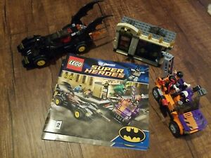 Lego 6864 DC Universe Super Heroes Batmobile Two Face Chase RETIRED 100% Compete