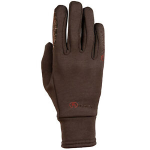 Roeckl Warwick Womens Gloves Everyday Riding Glove - Brown All Sizes